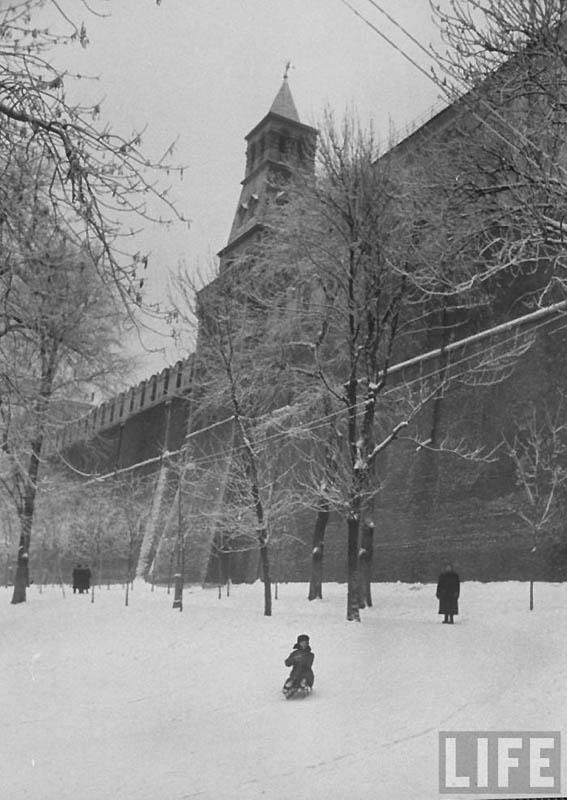 Moscow 11 Москва зимой 1959 года