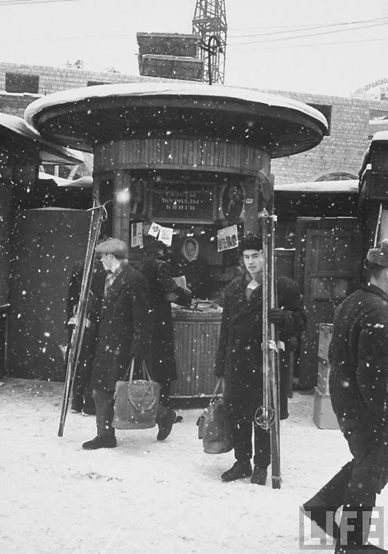 Moscow 12 Москва зимой 1959 года