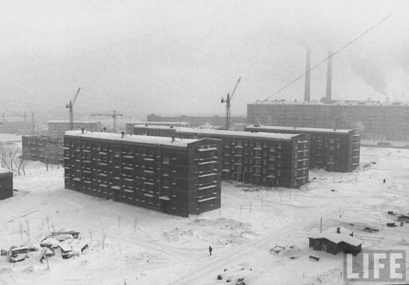 Moscow 15 Москва зимой 1959 года