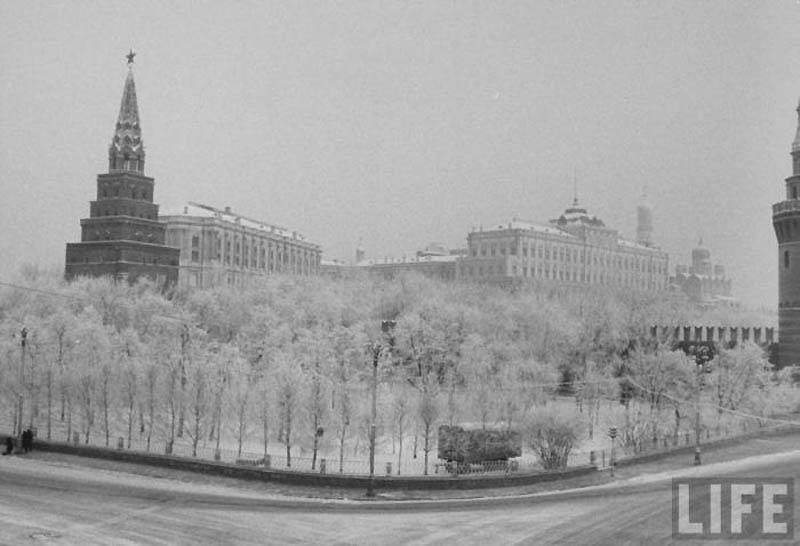 Moscow 16 Москва зимой 1959 года