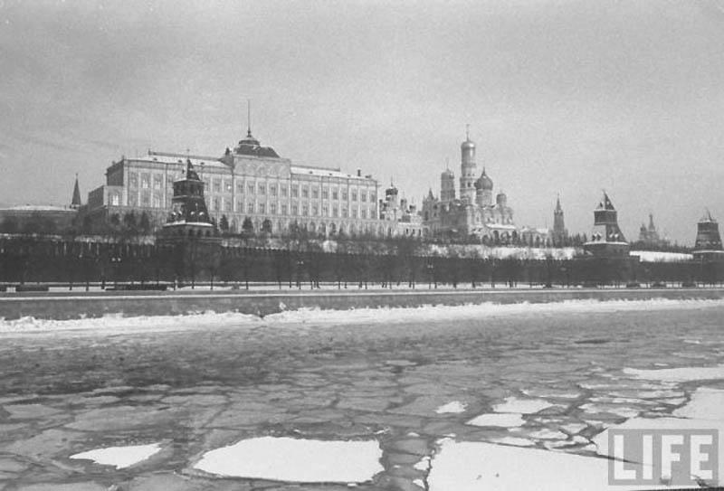 Moscow 17 Москва зимой 1959 года