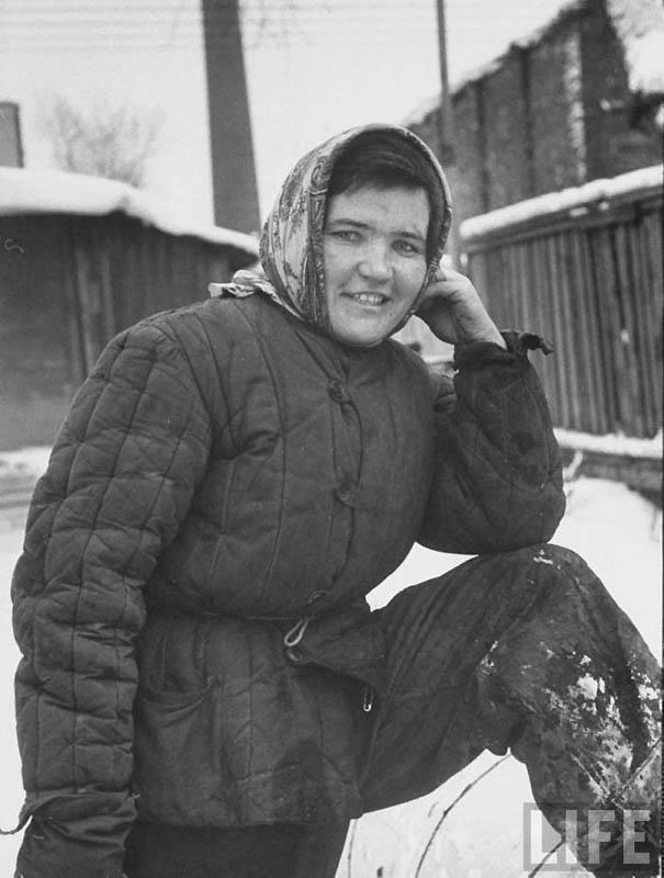Moscow 18 Москва зимой 1959 года