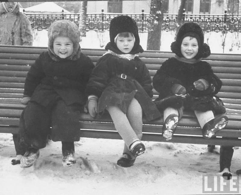 Moscow 19 Москва зимой 1959 года