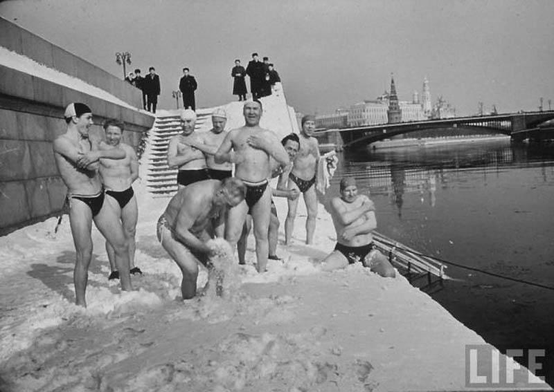 Moscow 20 Москва зимой 1959 года