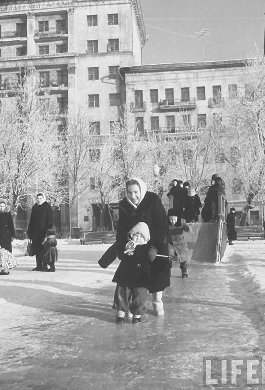 Moscow 21 Москва зимой 1959 года