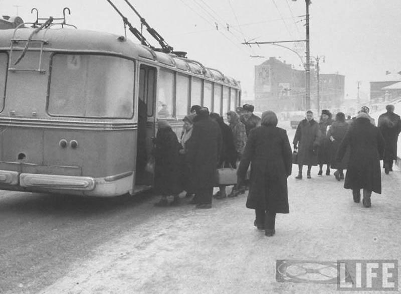 Moscow 24 Москва зимой 1959 года