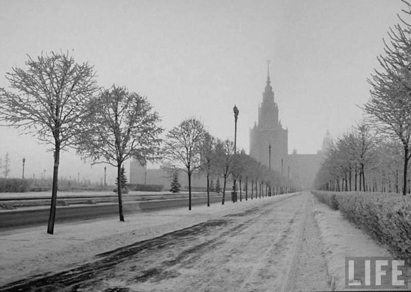 Moscow 25 Москва зимой 1959 года