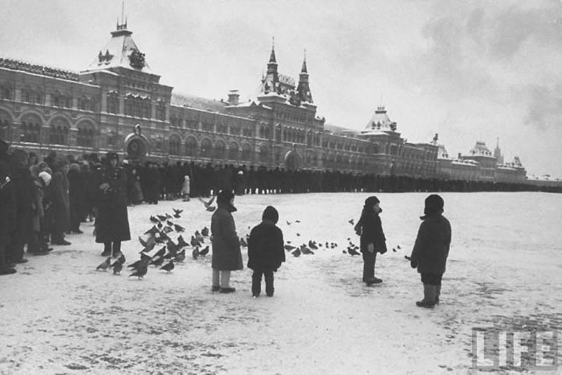 Moscow 27 Москва зимой 1959 года
