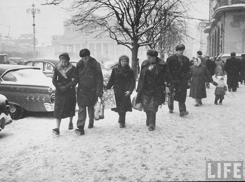 Moscow 29 Москва зимой 1959 года