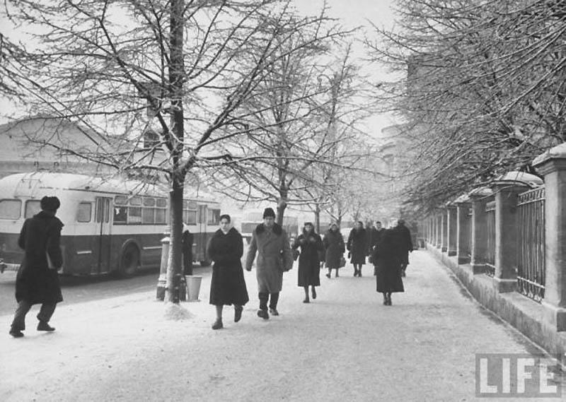 Moscow 30 Москва зимой 1959 года