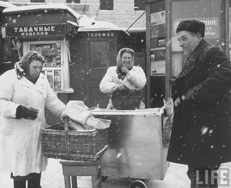 Moscow 33 Москва зимой 1959 года