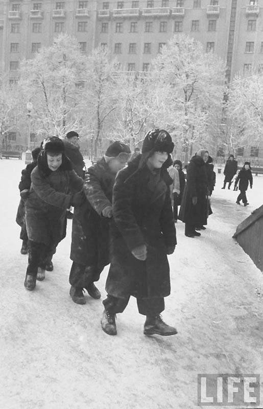 Moscow 34 Москва зимой 1959 года