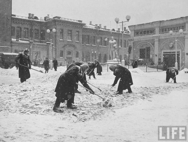 Moscow 35 Москва зимой 1959 года