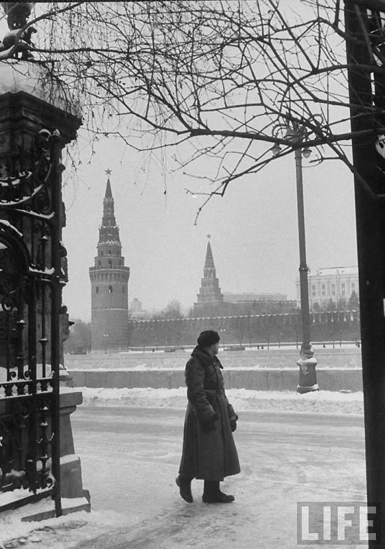 Moscow 37 Москва зимой 1959 года