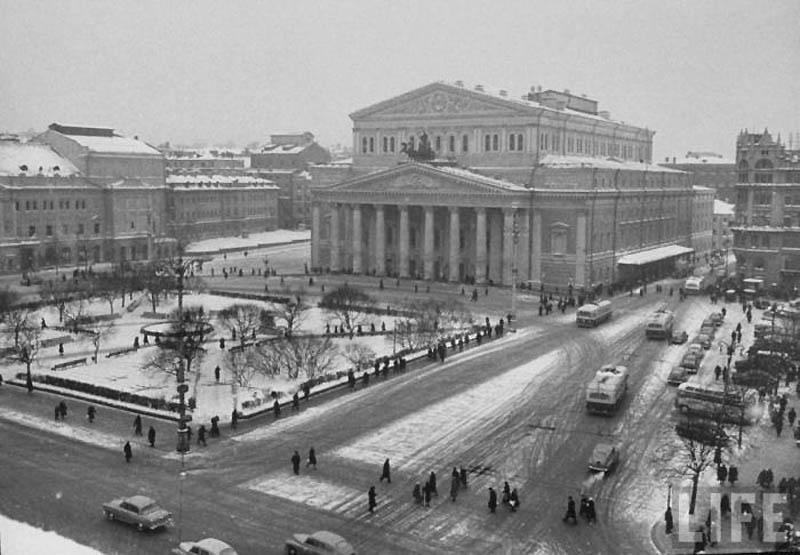 Moscow 38 Москва зимой 1959 года