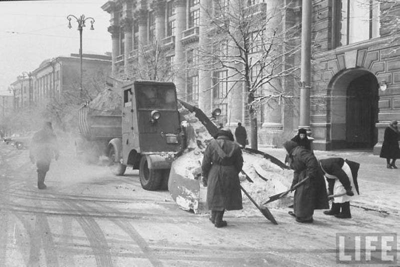 Moscow 39 Москва зимой 1959 года