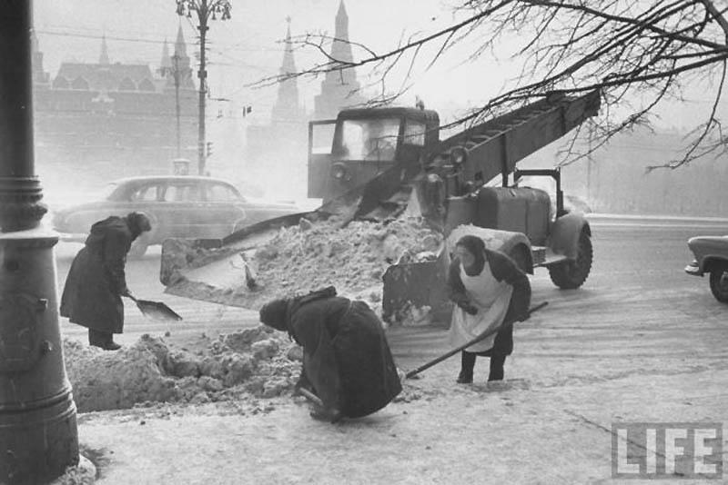 Moscow 40 Москва зимой 1959 года