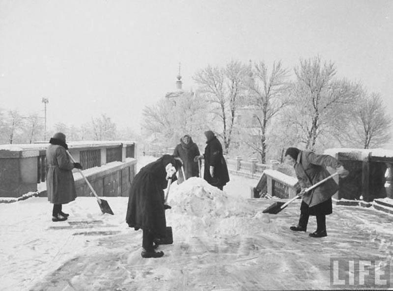 Moscow 41 Москва зимой 1959 года