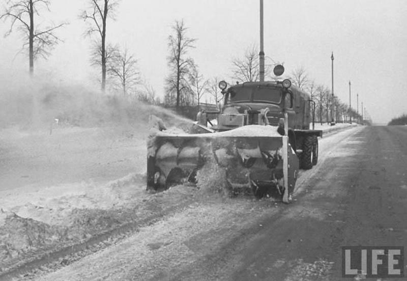 Moscow 42 Москва зимой 1959 года