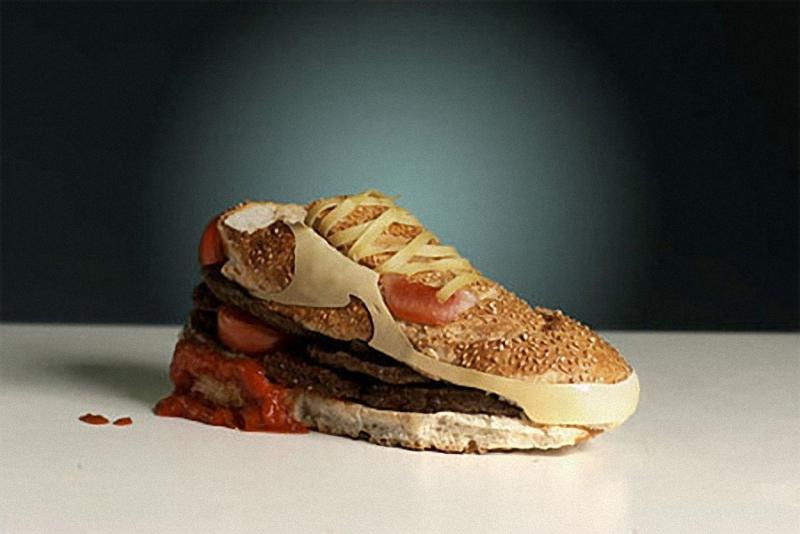 Nike Искусство бутерброда