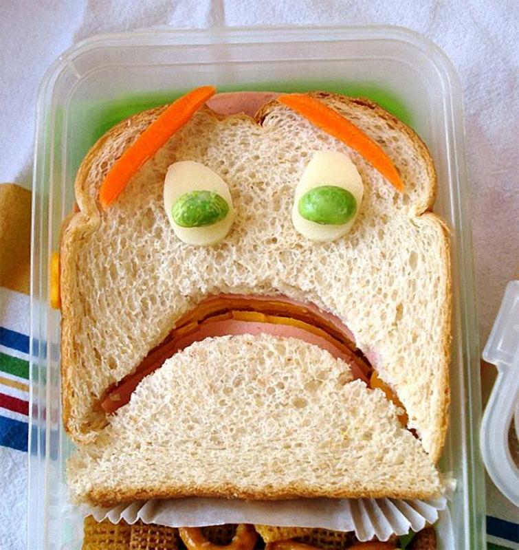 Terrified Искусство бутерброда