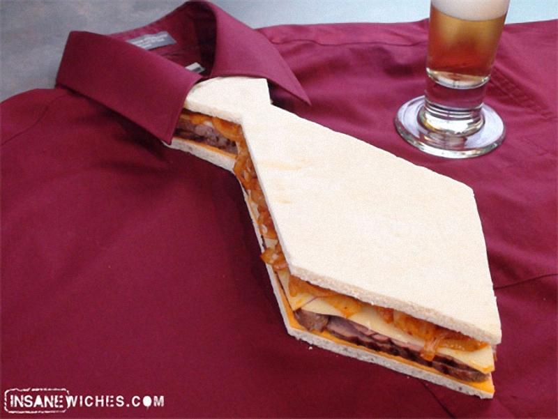 Tie Искусство бутерброда