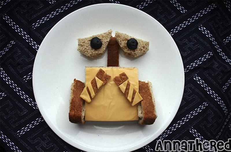 Wall E Искусство бутерброда