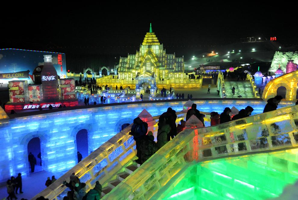 bp101 Фестиваль снега и льда в Харбине 2012