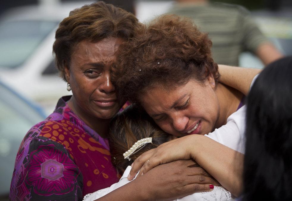brazil floods 01 Разрушительный оползень в Бразилии