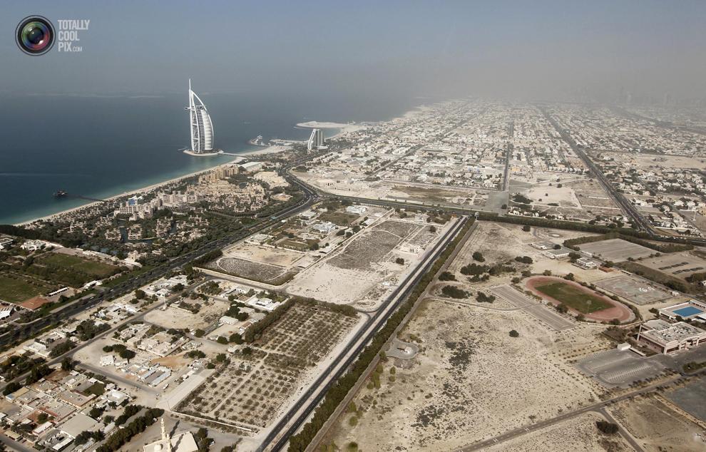 dubai 004 Дубай с высоты птичьего полета