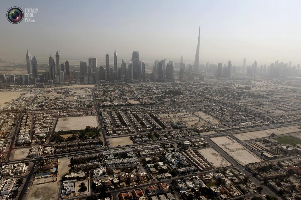 dubai 007 Дубай с высоты птичьего полета