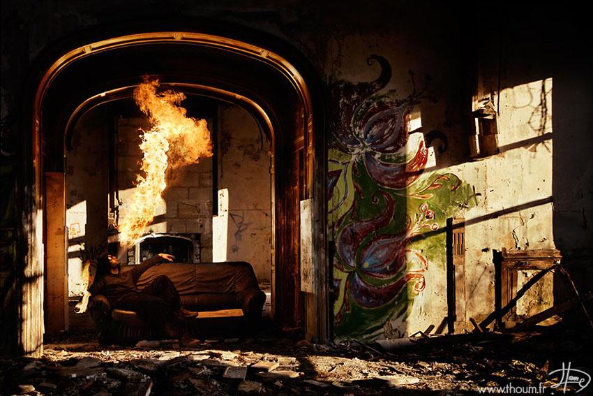 fireshow15 Стихия огня на фото Тома Лакоста