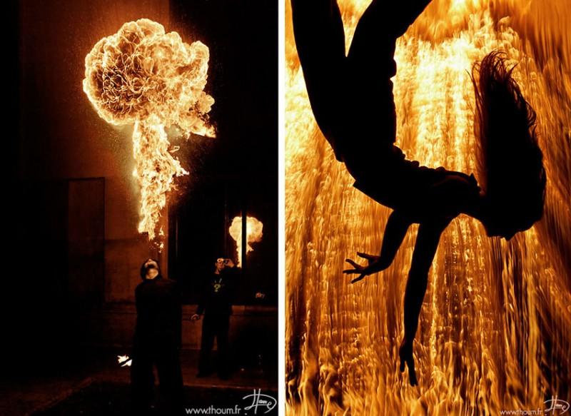 fireshow22 800x583 Стихия огня на фото Тома Лакоста