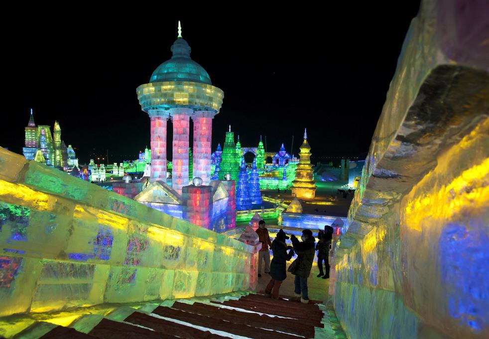 harbin festival 2012 02 Фестиваль снега и льда в Харбине