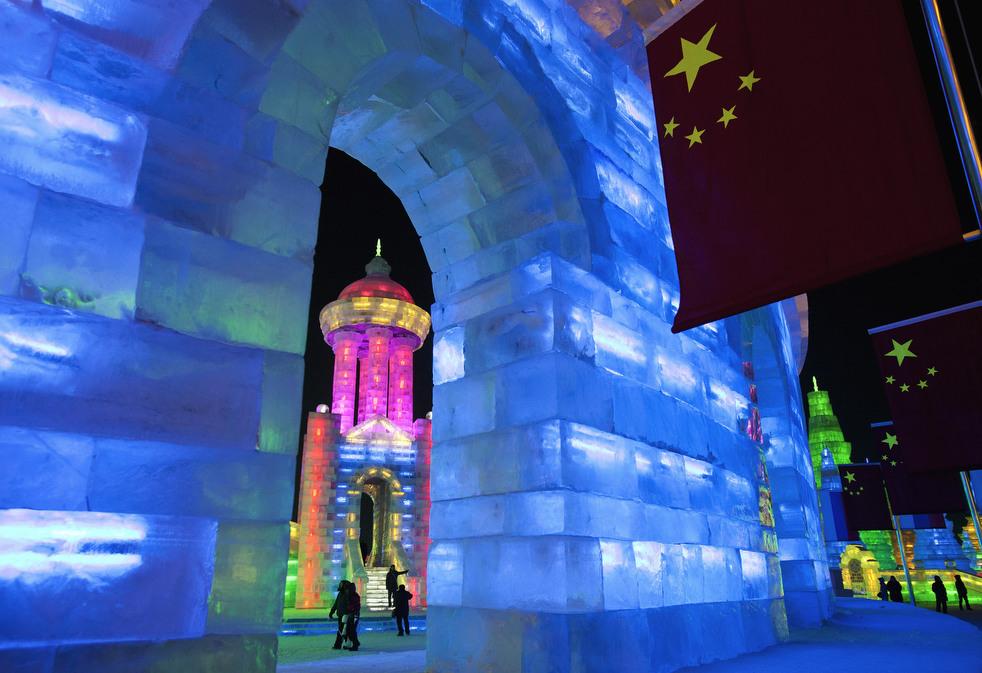 harbin festival 2012 05 Фестиваль снега и льда в Харбине