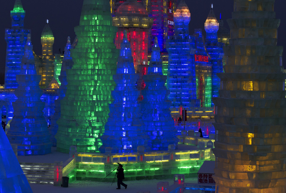 harbin festival 2012 08 Фестиваль снега и льда в Харбине