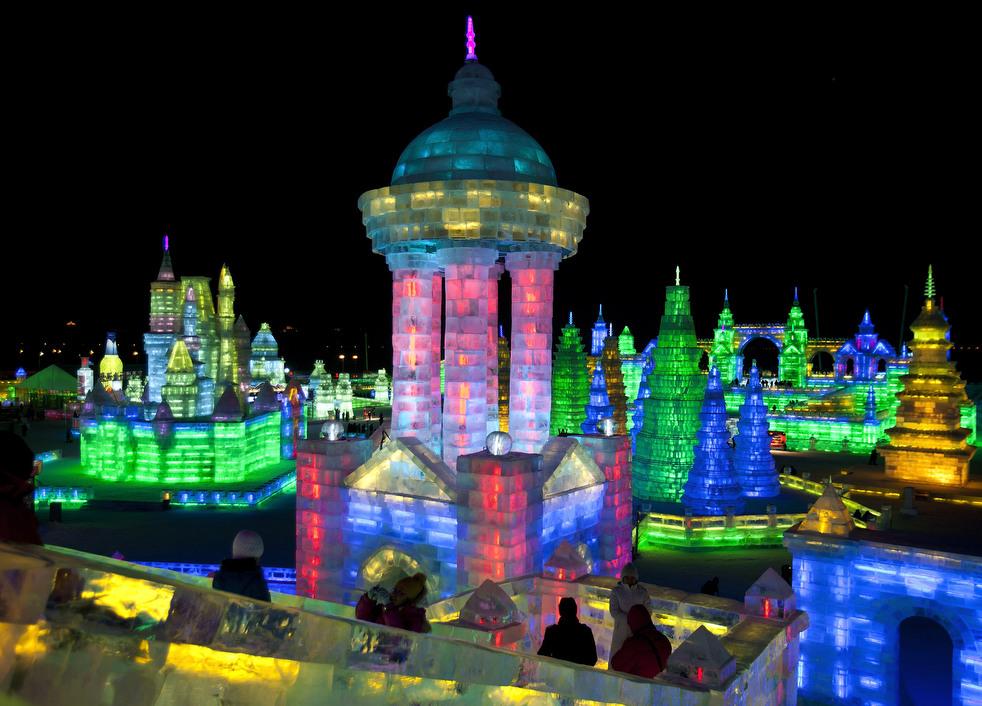 harbin festival 2012 09 Фестиваль снега и льда в Харбине