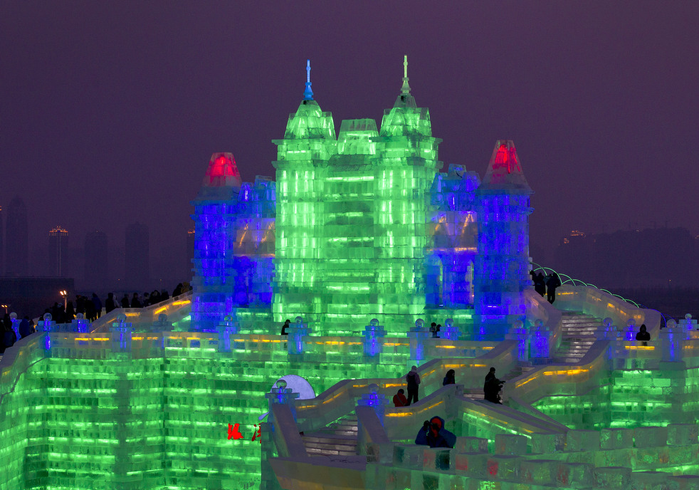 harbin festival 2012 10 Фестиваль снега и льда в Харбине