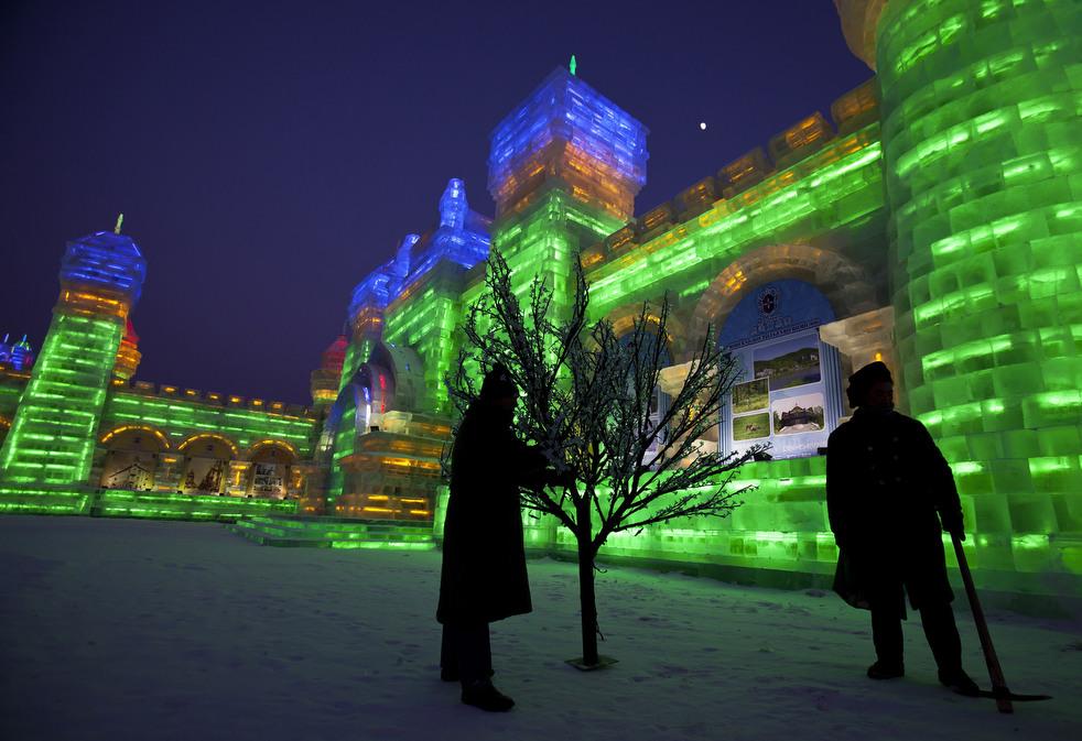 harbin festival 2012 12 Фестиваль снега и льда в Харбине