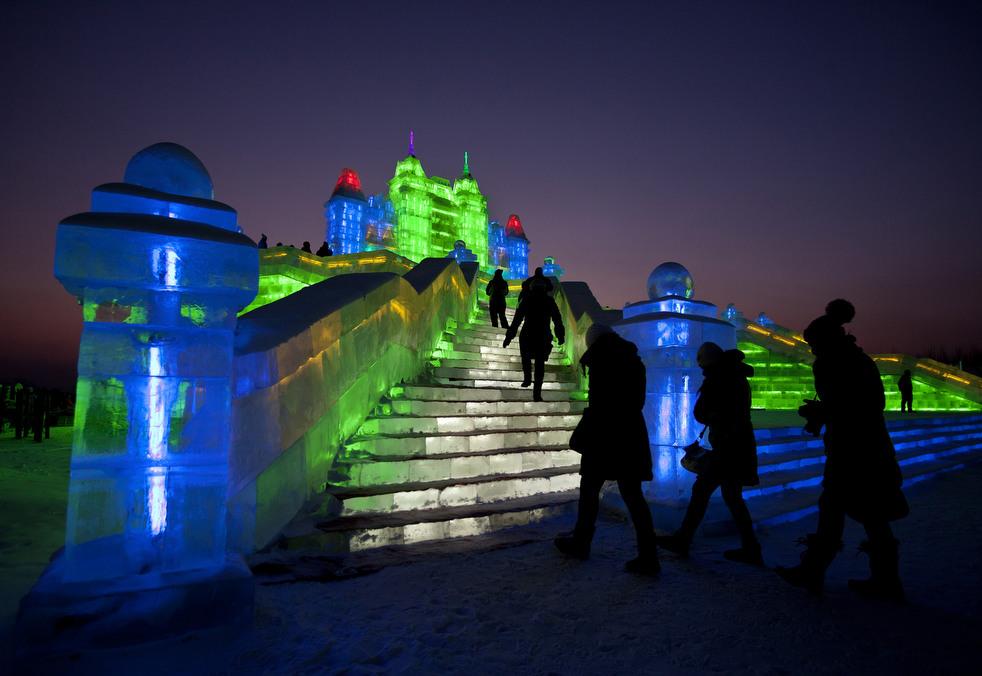 harbin festival 2012 13 Фестиваль снега и льда в Харбине