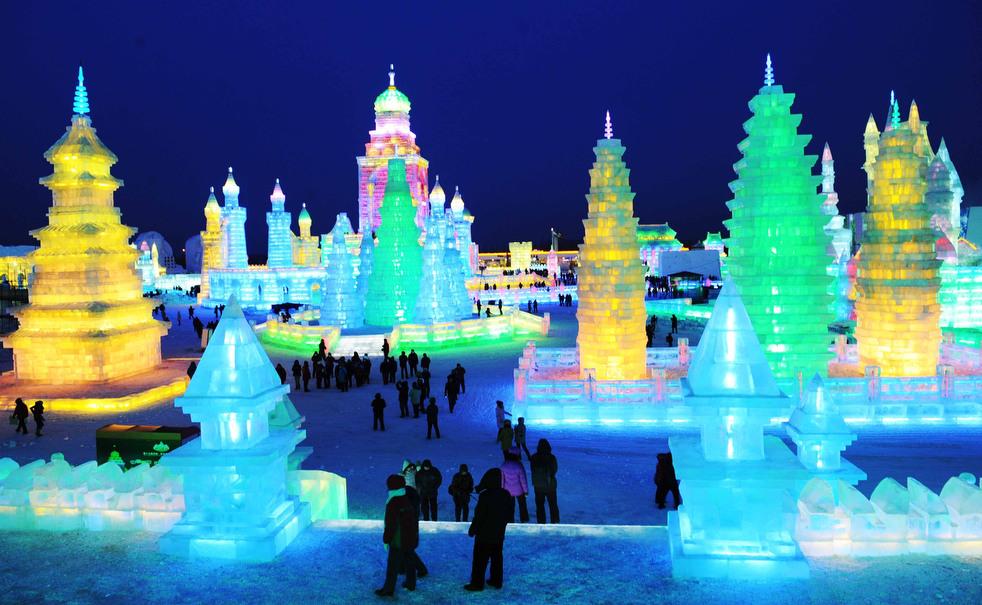 harbin festival 2012 15 Фестиваль снега и льда в Харбине