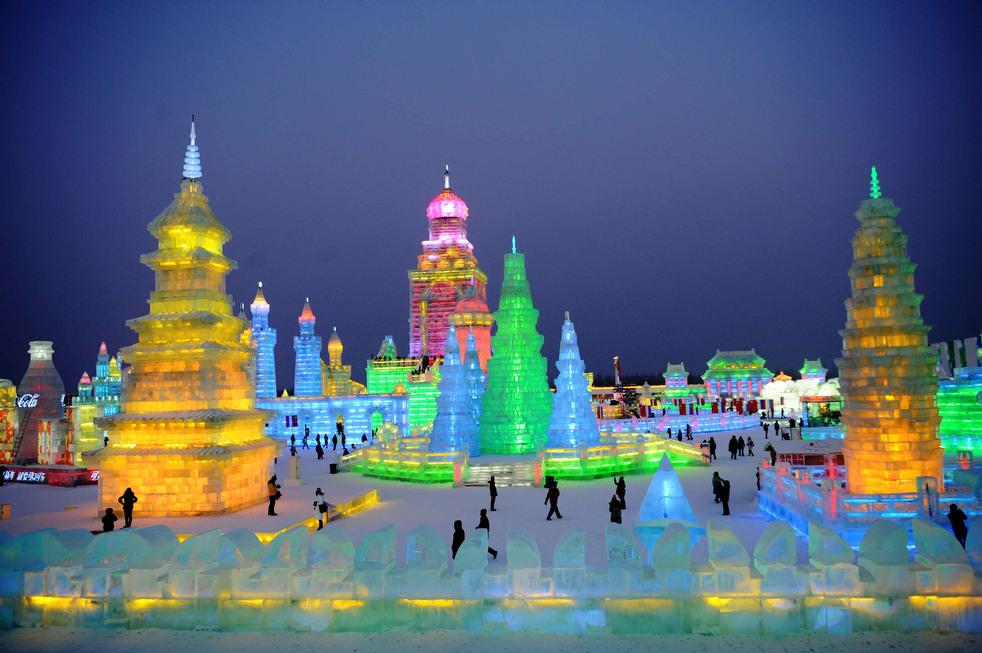 harbin festival 2012 16 Фестиваль снега и льда в Харбине