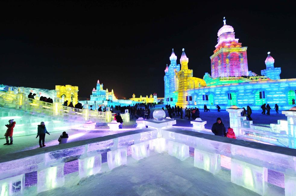 harbin festival 2012 17 Фестиваль снега и льда в Харбине
