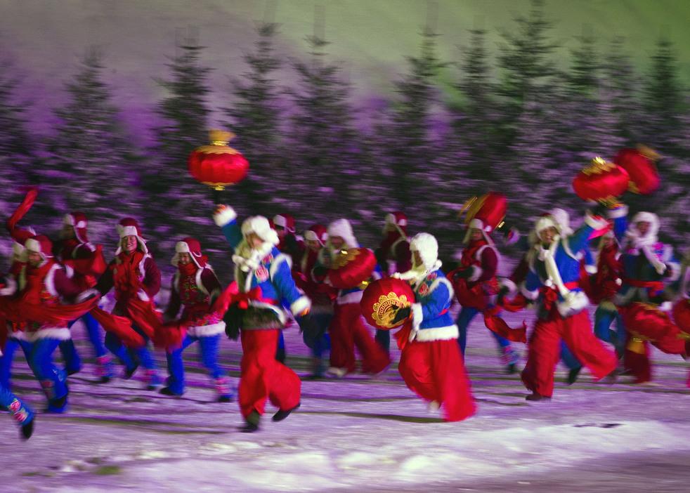 harbin festival 2012 21 Фестиваль снега и льда в Харбине