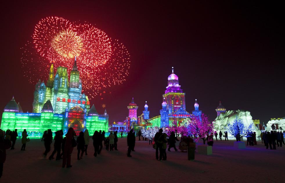 harbin festival 2012 24 Фестиваль снега и льда в Харбине