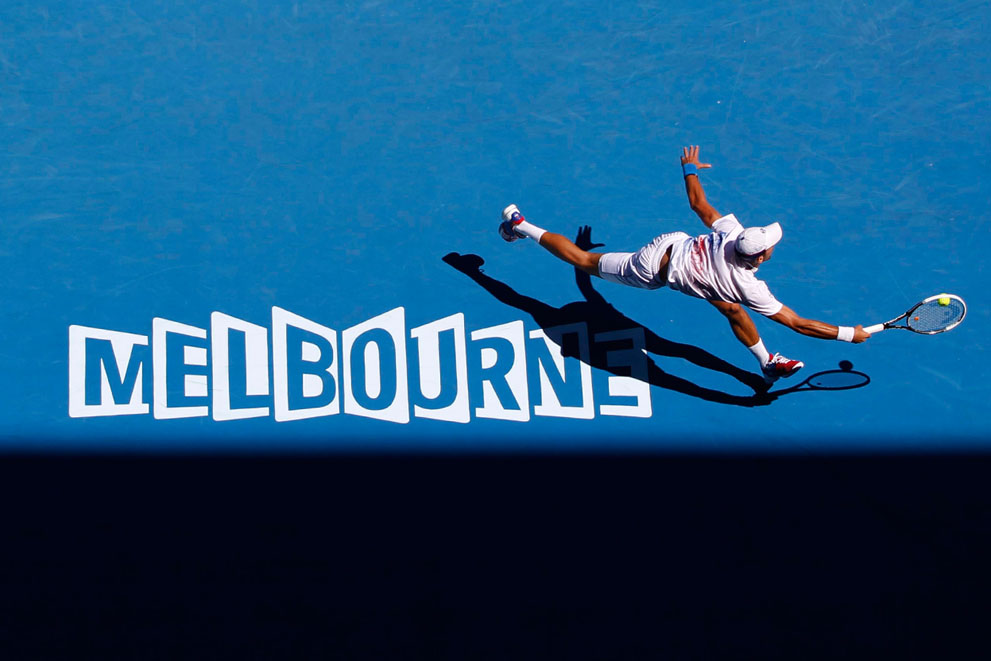 s a09 RTR2WHT5 Открытый чемпионат Австралии по теннису