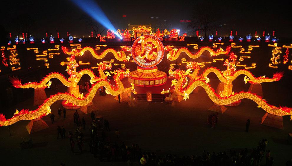 Празднования китайского нового года