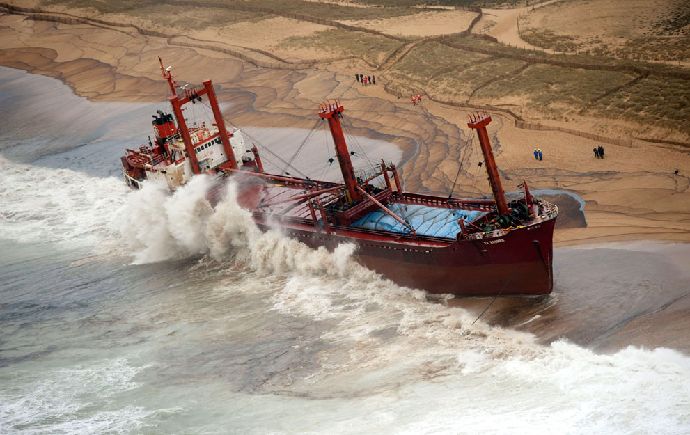 Демонтаж судна ТК Bremen