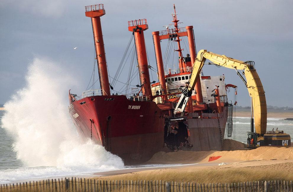 s t18 07125912 Демонтаж судна ТК Bremen