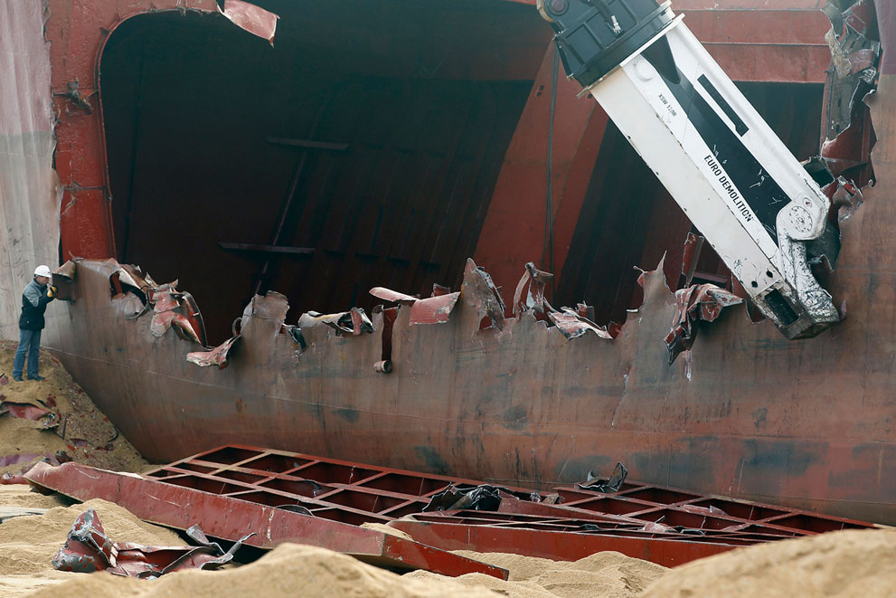 s t21 RTR2VZQ2 Демонтаж судна ТК Bremen